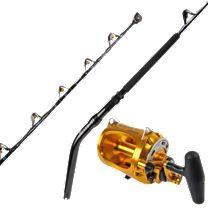 Melton Tackle High-Leverage GBF 130-Unlimited Stand-Up Rod w/Okuma Makaira 80WII Lever Drag Reel