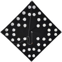 SFE Tournament Kite Large Hole Black