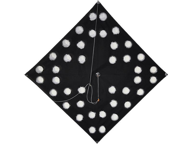 SFE Tournament Kite Large Hole Black