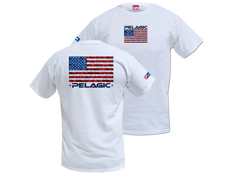 Pelagic American Camo T-Shirt