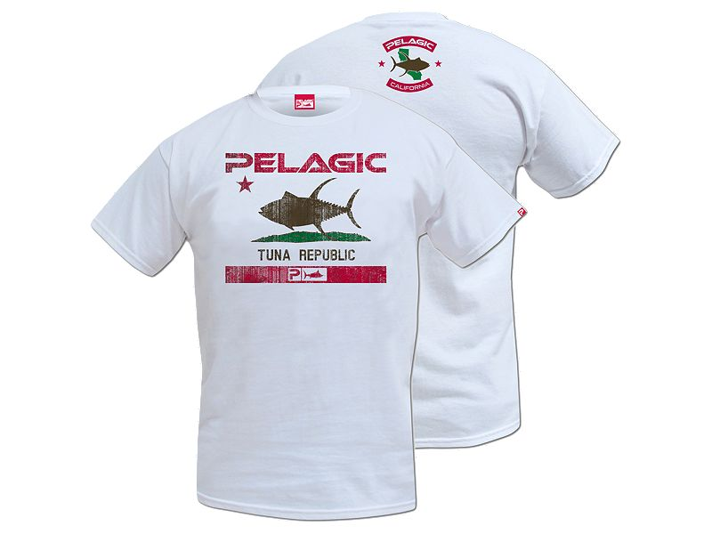 Pelagic Tuna Republic T-Shirt