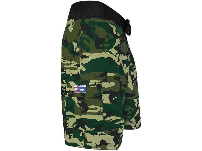 Pelagic Fish Camo Shorts