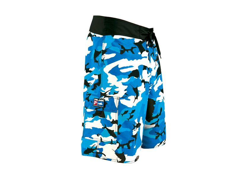 Pelagic Commando Fish Camo Shorts