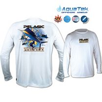 Pelagic OCP Sailfish AquaTek Performance Long Sleeve Shirt