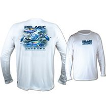 Pelagic OCP Tuna Bait AquaTek Performance Long Sleeve Shirt