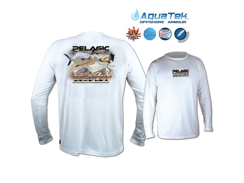 Pelagic OCP Inshore Slam AquaTek Performance Long Sleeve Shirt