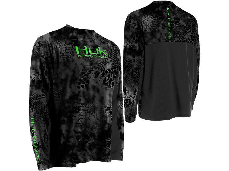 Huk Youth Kryptek Icon Long Sleeve Shirt