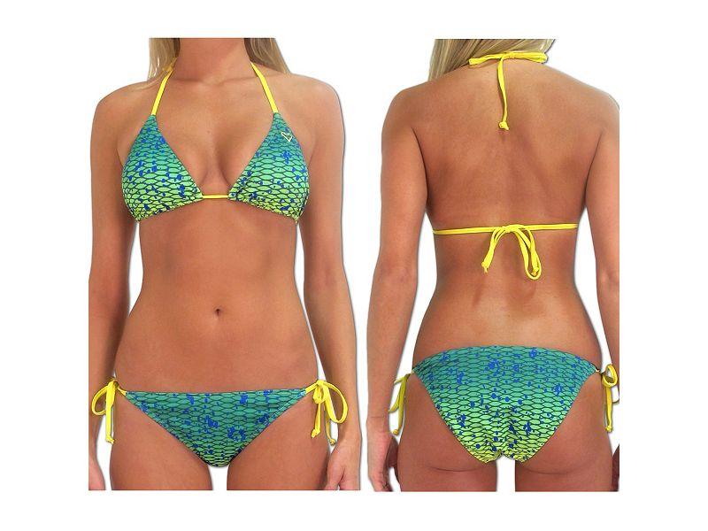 Pelagic Dorado Bikini Top
