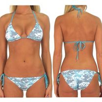 Pelagic Digital Camo Bikini