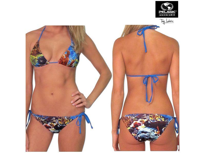 Pelagic Atlantis Bikini Top