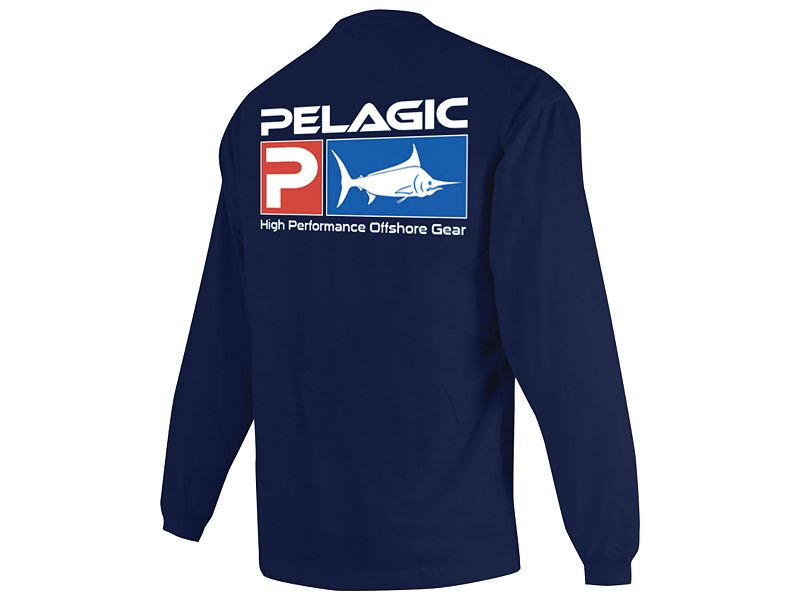 Pelagic Deluxe Logo Long Sleeve Shirt