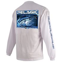Pelagic Open Water Marlin Long Sleeve Shirt