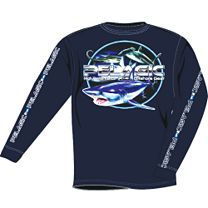 Pelagic Open Water Shark Long Sleeve Shirt