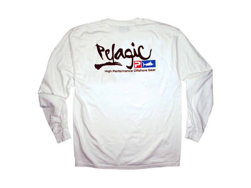 Pelagic Script Logo Long Sleeve Shirt