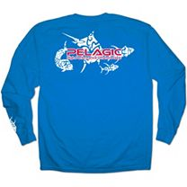 Pelagic Tribal Logo Long Sleeve Shirt