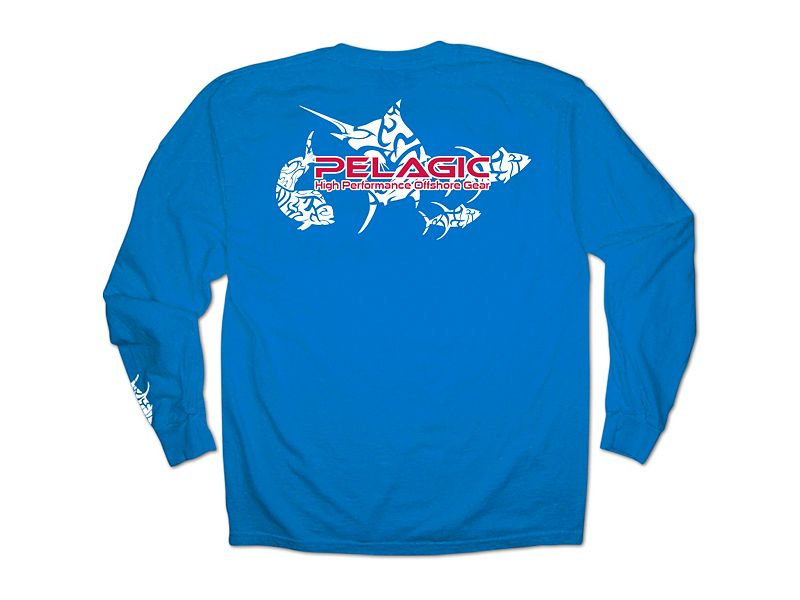 Pelagic Tribal Logo Long Sleeve