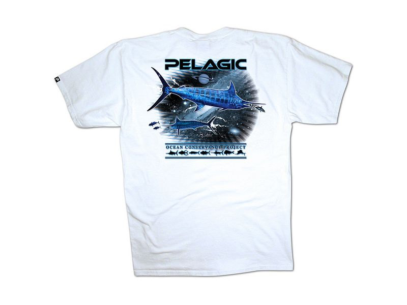 Pelagic OCP Marlin Space T-Shirt