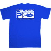 Pelagic Bluefin Flag Logo T-Shirt
