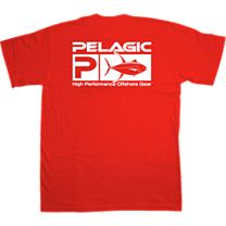 Pelagic Yellowfin Flag Logo T-Shirt