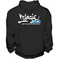 Pelagic Script Logo Zip Hoody