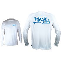 Pelagic Aquatek Script Long Sleeve Shirt
