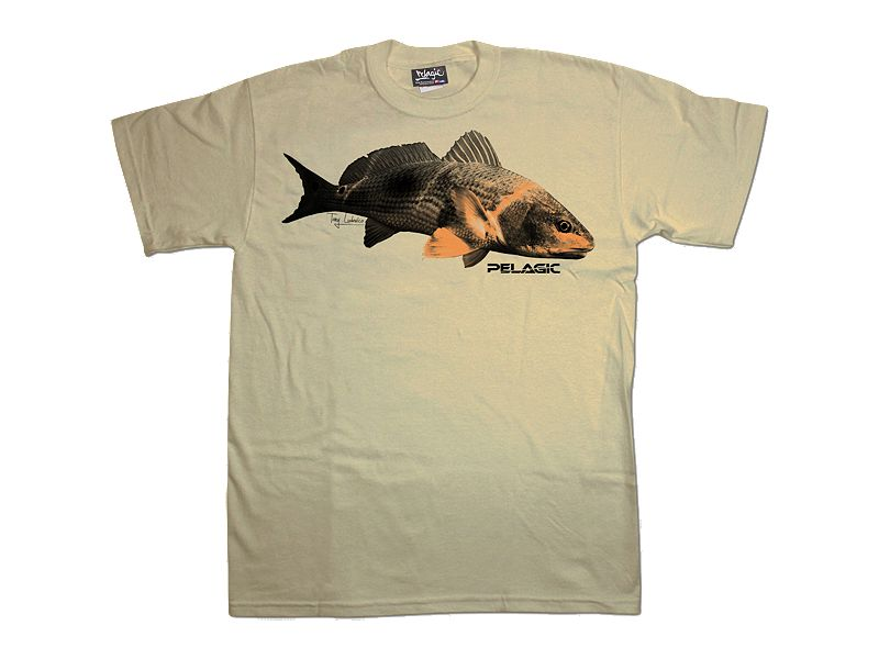 Pelagic Ludo Redfish T-Shirt