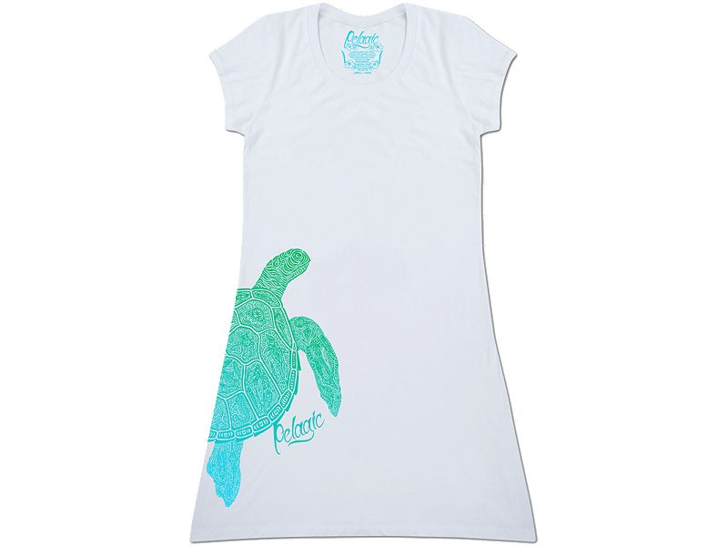 Pelagic Throw Over Turtle Dress