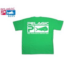 Pelagic Dorado Flag Logo Youth T-Shirt