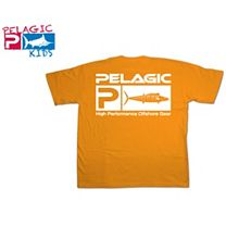 Pelagic Wahoo Flag Logo Youth T-Shirt