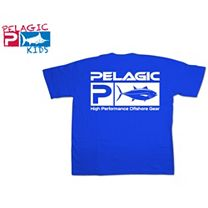 Pelagic Bluefin Flag Logo Youth T-Shirt