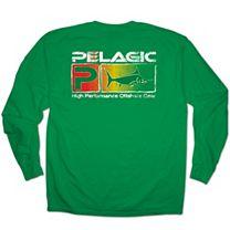 Pelagic Rasta Deluxe Long Sleeve Shirt