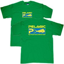 Pelagic Dorado Flag Logo T-Shirt