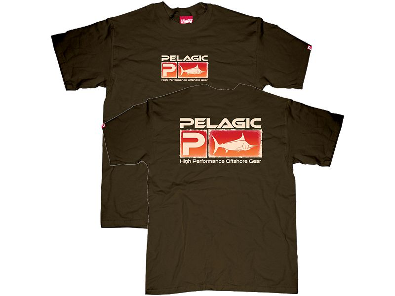 Pelagic Fade Away Logo T-Shirt