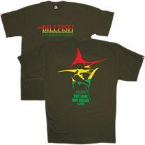 Pelagic OCP TBF Rasta Logo T-Shirt