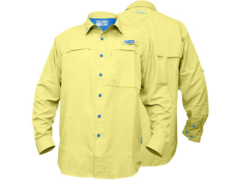 Pelagic Eclipse Guide Long Sleeve Buttondown Shirt