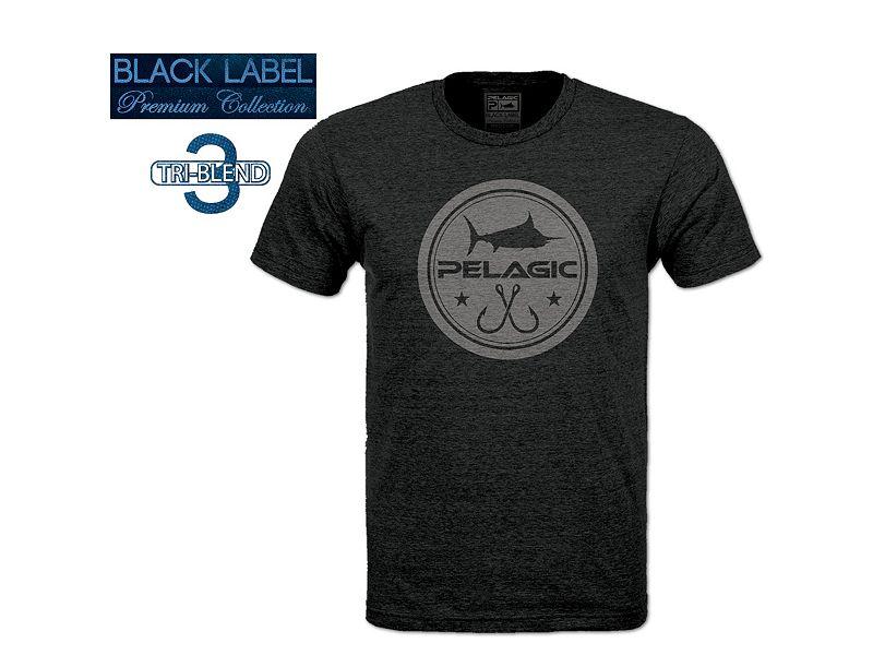 Pelagic Black Label Circle Logo T-Shirt