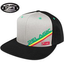 Pelagic Rasta Snapback Hat