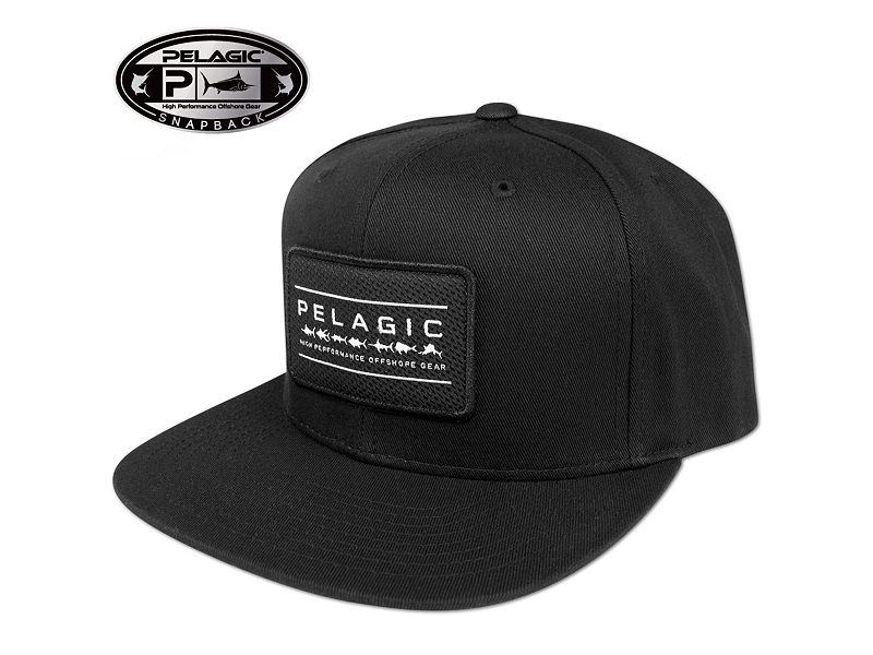 Pelagic Greylight Snapback Hat