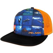Pelagic Collage Trucker Cap