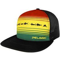 Pelagic Rasta Trucker Cap