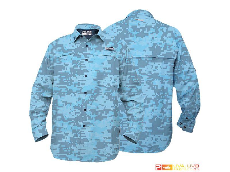 Pelagic Eclipse Guide Long Sleeve Buttondown Shirt
