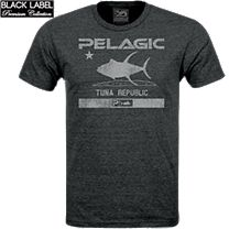 Pelagic Premium Tuna Republic T-Shirt