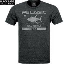 Pelagic Premium Tuna Republic T-Shirt