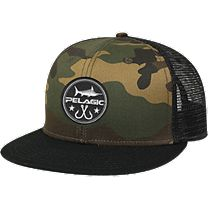 Pelagic Circle Patch Trucker Hat