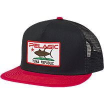 Pelagic Tuna Republic Trucker Hat