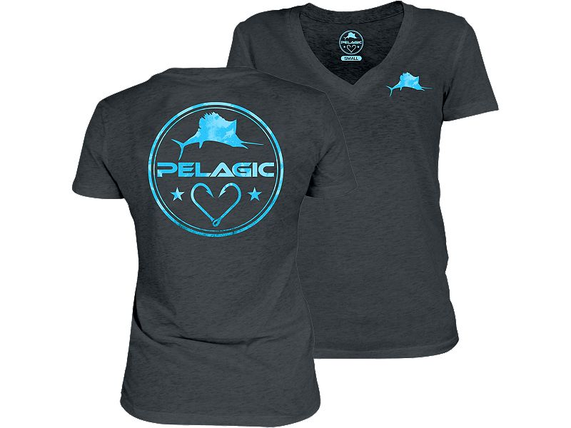 Pelagic Women's Makai V-Neck T-Shirt