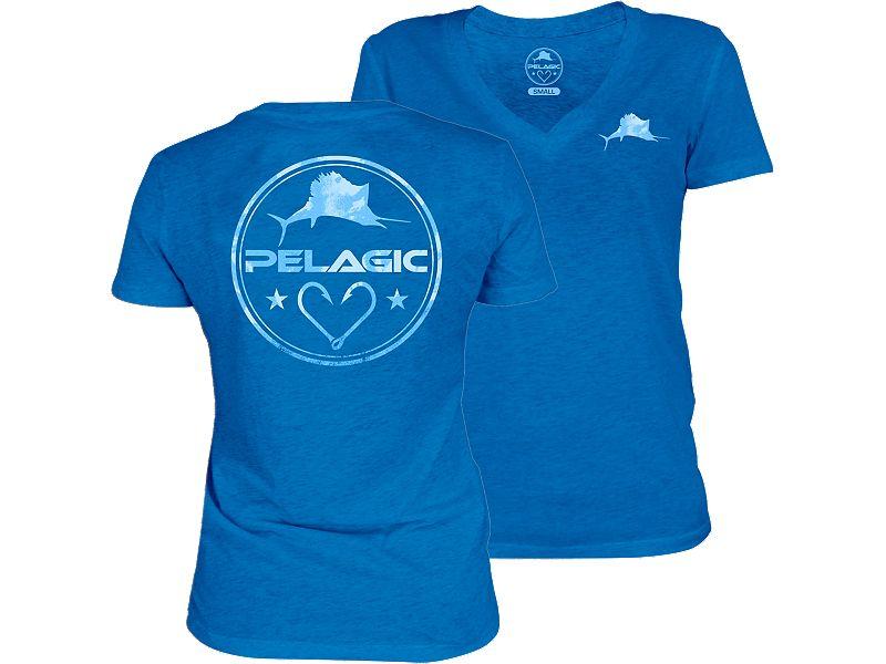 Pelagic Women's Makai V-Neck T-Shirt