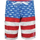 Pelagic Sharkskin Americamo Youth Boardshorts