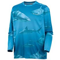 Columbia PFG Offshore Teaser Action Long Sleeve Shirt