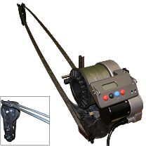 Lindgren-Pitman S-1200 Ultimate Deep Drop Electric Reel w/Wishbone Rod Combo